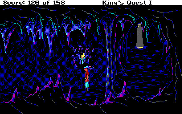 Score display in King's Quest I.