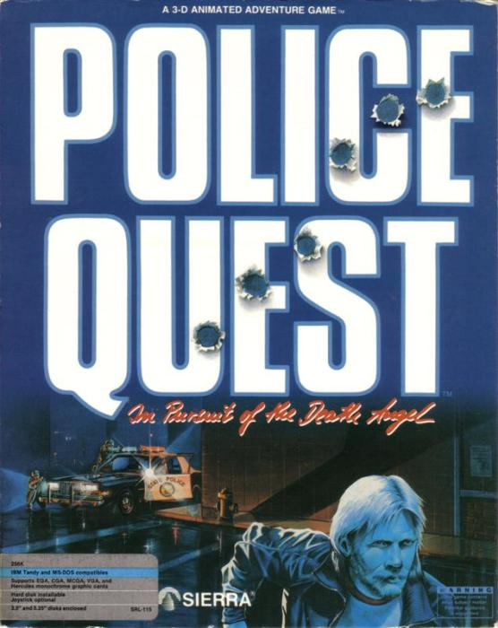 Police Quest 1 - Box