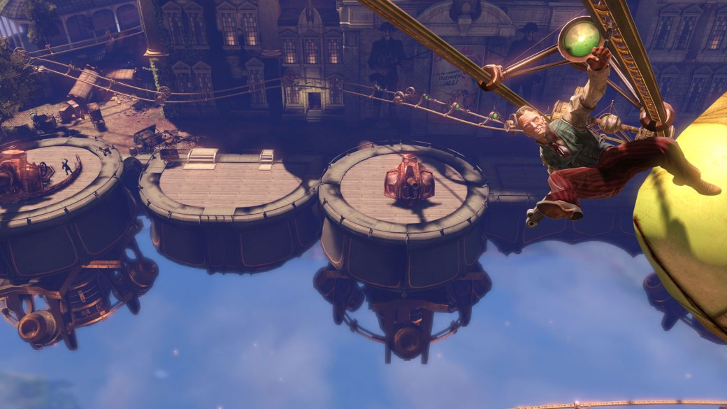 BioShock Infinite - Sky-Line in Use