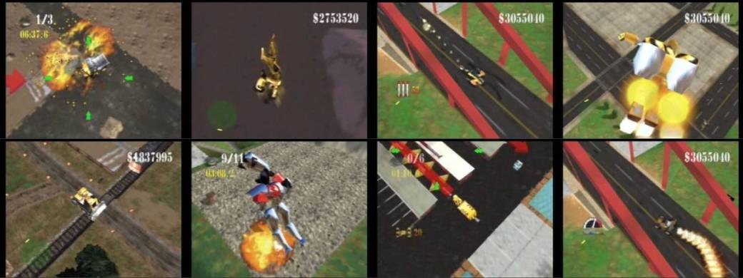 Blast Corps - Vehicles