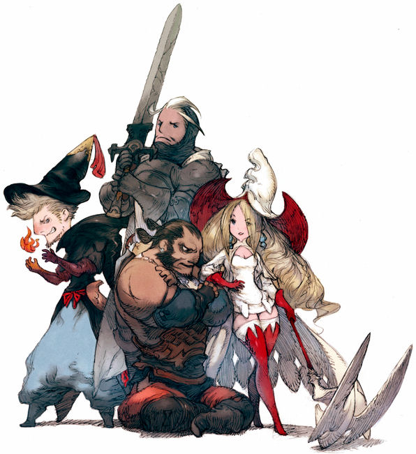 Bravely Default - Sky Knights