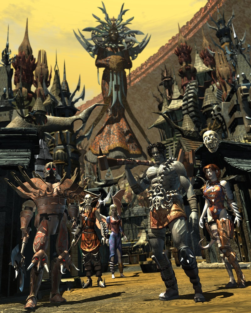 Planescape Torment - Characters