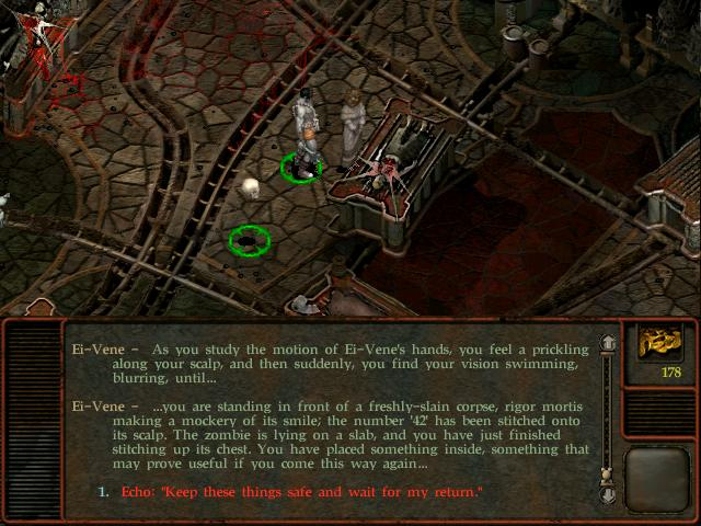 Planescape Torment - Writing