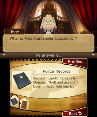Professor Layton vs. Phoenix Wright Ace Attorney - Court Record