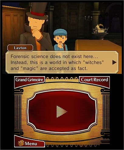 Professor Layton vs. Phoenix Wright Ace Attorney - Setting