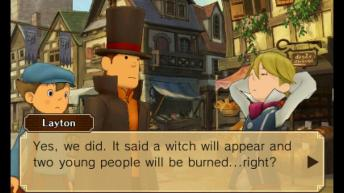 Professor Layton vs. Phoenix Wright Ace Attorney - Witches