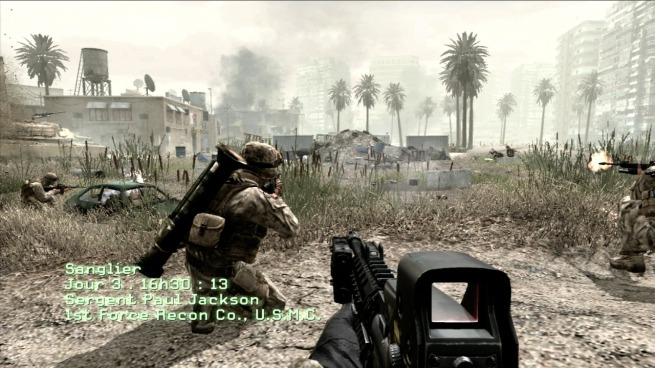 Call of Duty 4 - Gameplay