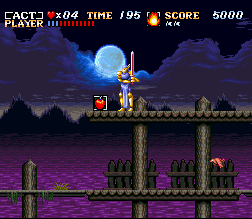 ActRaiser - Action Stage