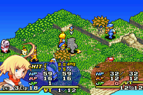 Final Fantasy Tactics Advance - Battle