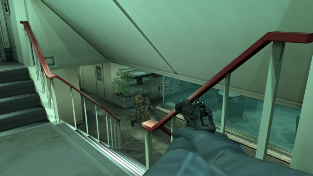 Metal Gear Solid 2 - Aiming
