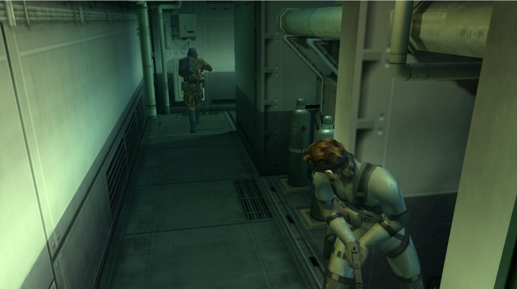 Metal Gear Solid 2 - Gameplay