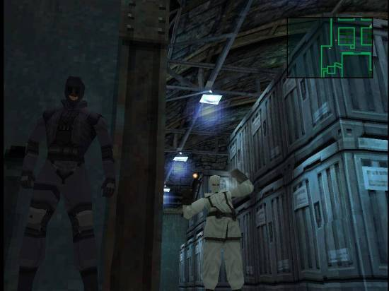 Metal Gear Solid - Sneaking