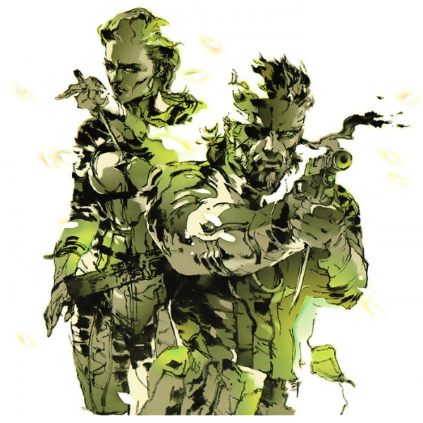 Metal Gear Solid 3 - The Boss and Naked Snake