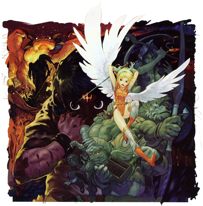 Breath of Fire - Characters