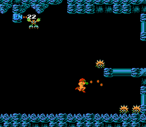 Metroid - Gameplay