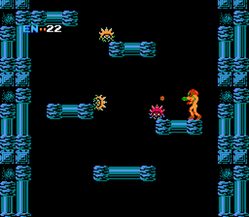 Metroid - No attacking the ground