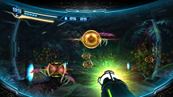 Metroid Other M - First-Person Mode
