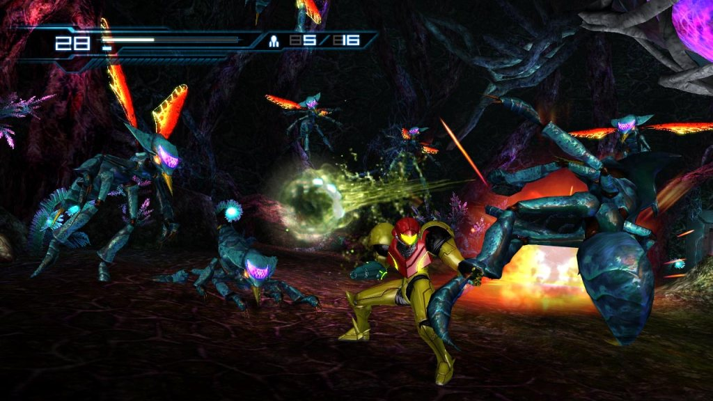 Metroid Other M - Gameplay