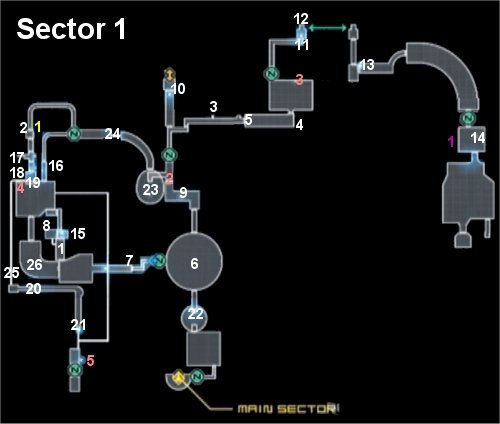 Metroid Other M - Map