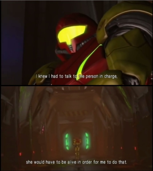 Metroid Other M - People die when they're killed!