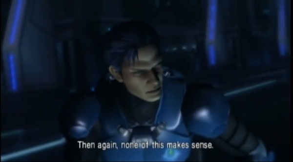 Metroid Other M - Rare moment of honesty