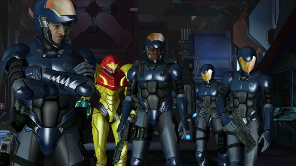 Metroid Other M - Squad