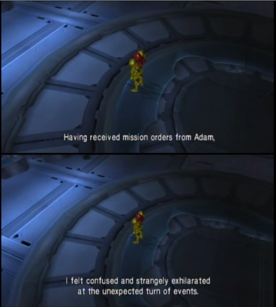 Metroid Other M - You're lying, dammit! And I can prove it! 2