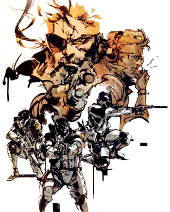 Metal Gear Solid - Peace Walker - Art