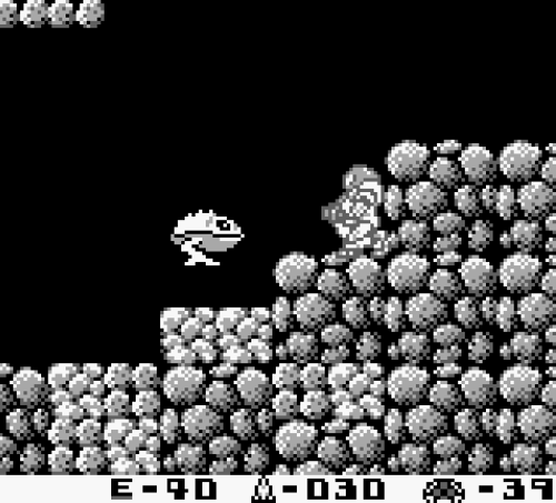 Metroid II - Gameplay