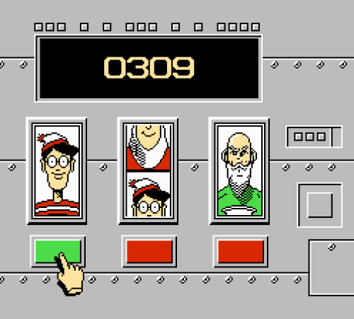 Where's Waldo NES - Slot Machine