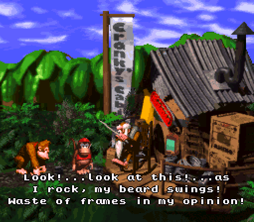 Donkey Kong Country - Cranky
