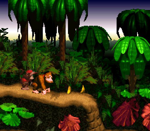 Donkey Kong Country - DK and Diddy