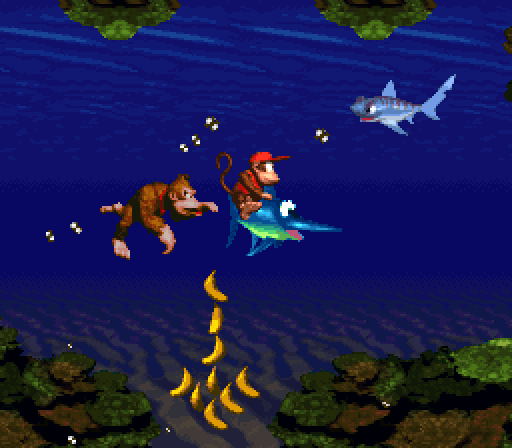Donkey Kong Country - Underwater