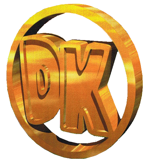 Donkey Kong Country 2 - DK Coin