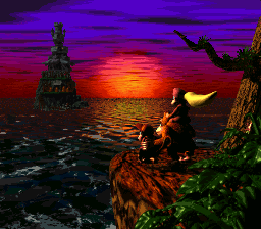 Donkey Kong Country 2 - Ending