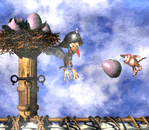 Donkey Kong Country 2 - Krow's Nest