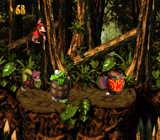 Donkey Kong Country 2 - Lost World