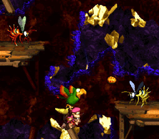 Donkey Kong Country 2 - Squawks