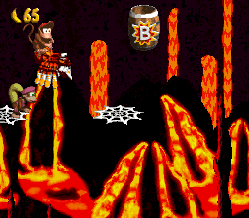 Donkey Kong Country 2 - Squitter