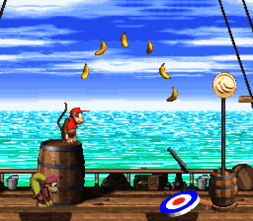 Donkey Kong Country 2 - Target