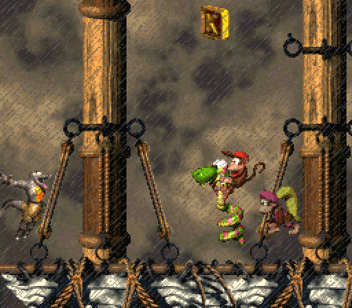 Donkey Kong Country 2 - Topsail Trouble