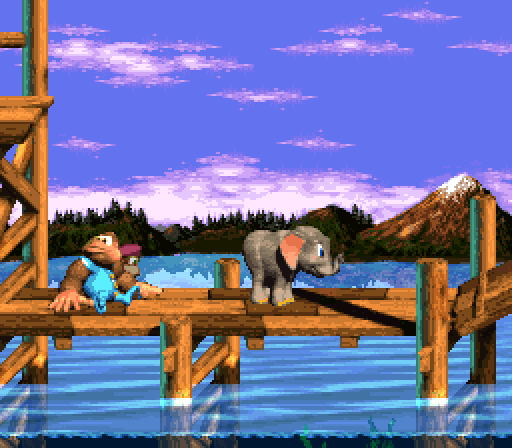Donkey Kong Country 3 - Ellie