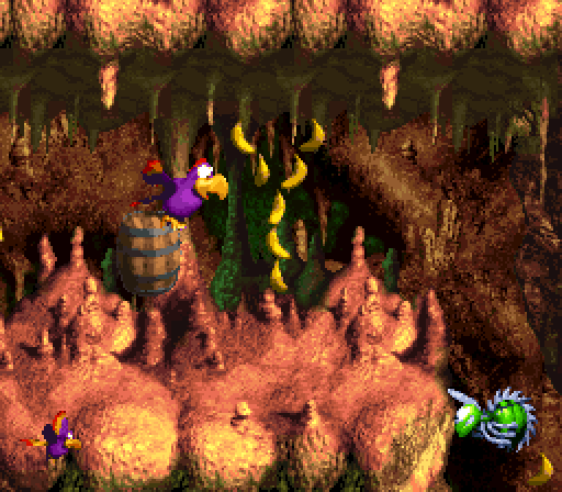 Donkey Kong Country 3 - Quawks