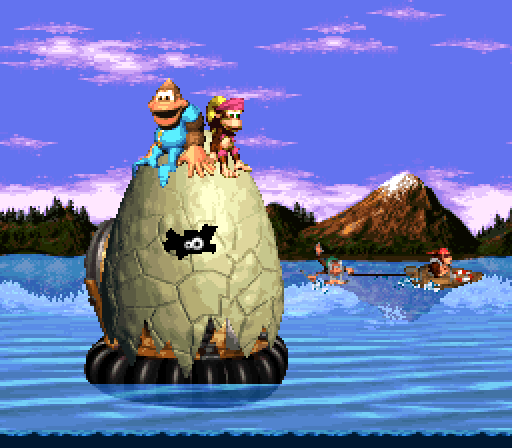 Donkey Kong Country 3 - The End